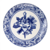 Royal Delft Schiffmacher Bord Geloof, Hoop & Liefde