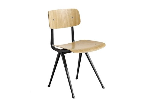 Hay Design Result Chair Stoel zwart frame