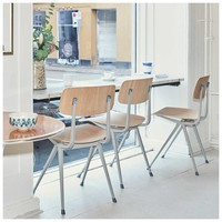 Result Chair Stoel Beige frame