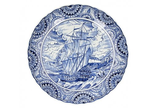 Royal Delft Limited edition Bord Easter Island 40cm