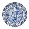 Royal Delft Limited edition Bord Rock of ages 40cm