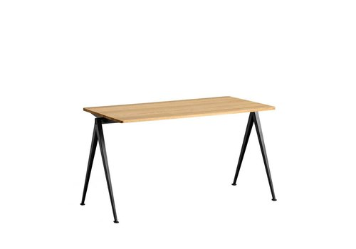 Hay Design Pyramid Table Tafel 01 Zwart frame