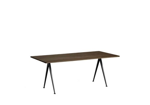 Hay Design Pyramid Table Tafel 02 Zwart Frame