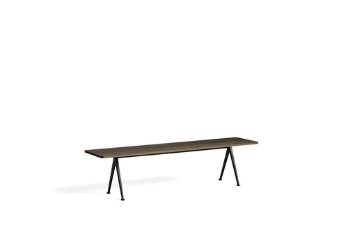 Hay Design Pyramid Bench Bank 12 Zwart Frame