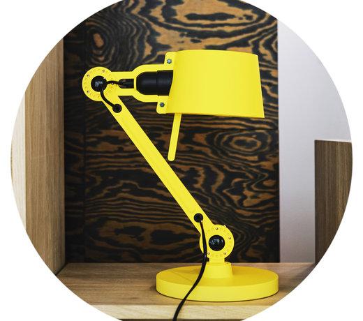 De bureaulampen van Teun