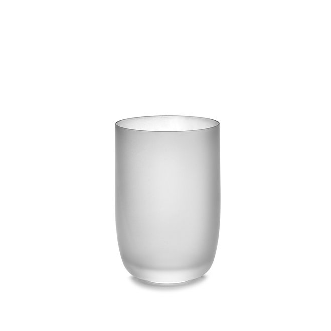 Glas Frosted M Wit Base