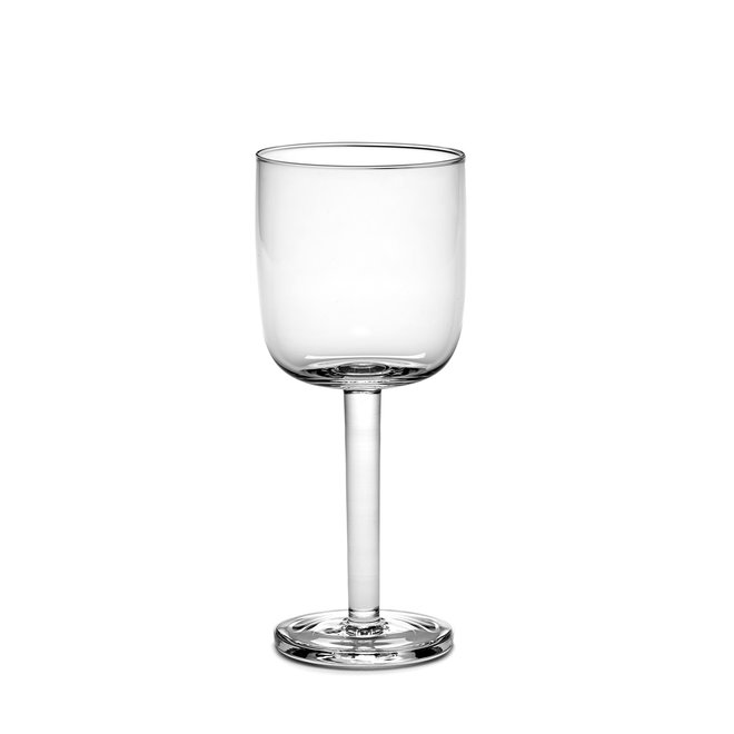 Wittewijnglas Base Recht