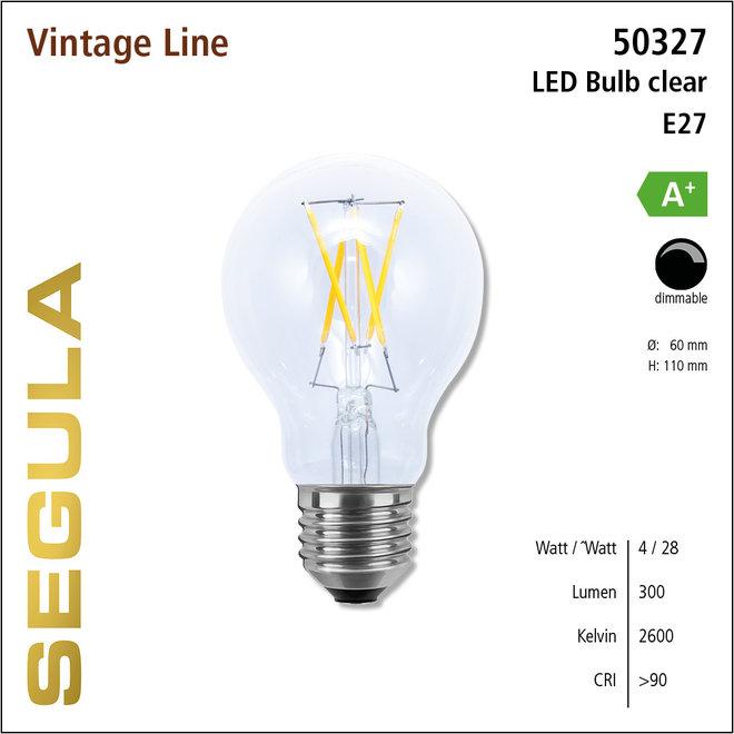 Segula Vintage lamp e27 helder