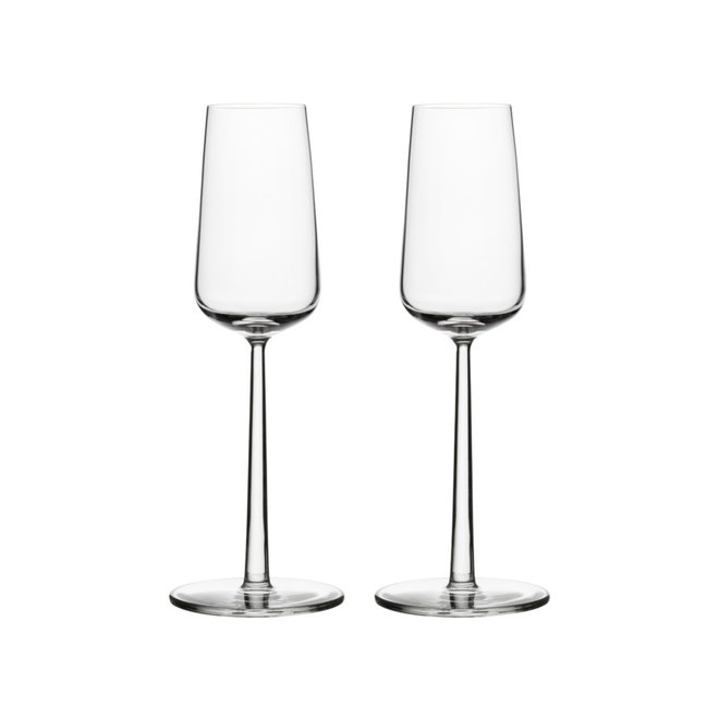 Essence Champagneglas - 21 cl - Helder - 2 Stuks