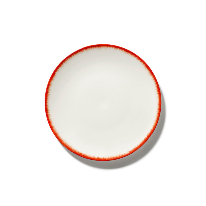 Bord Dé Off-White/Red Var 2