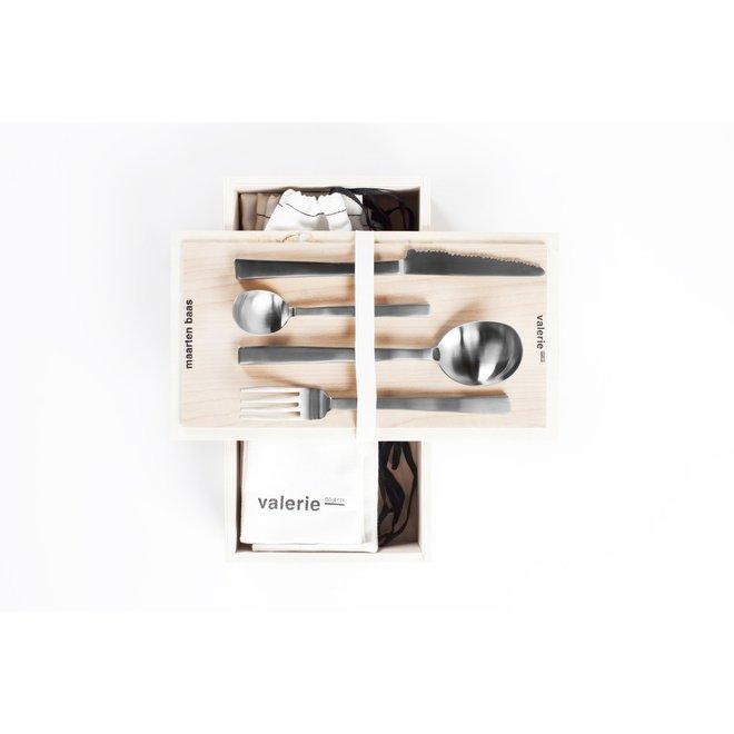 Giftbox Maarten Baas Stainless Steel 16 Pcs