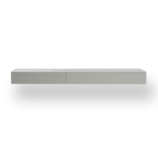 SOLO Lowboard Hangend Met 2 Kleppen XL