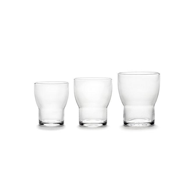 Universeel Glas Edie - 4 stuks