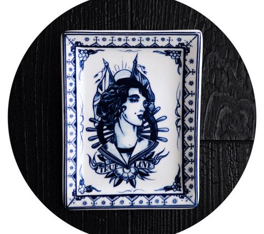 Royal Delft - Schiffmacher Royal Blue Tattoo