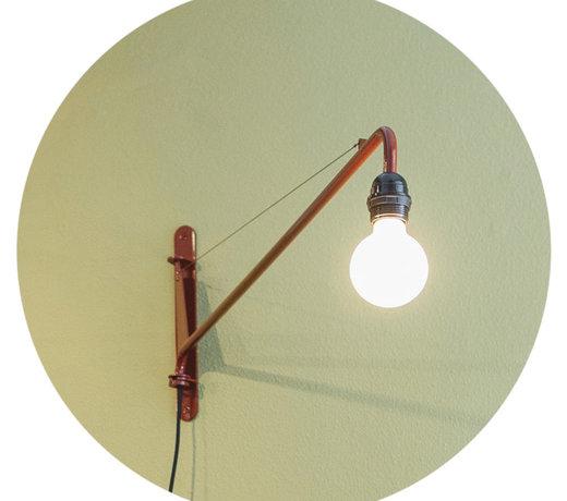 De wandlampen van Teun