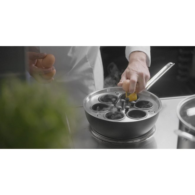 Kookpan 4L 22 cm TechnIQ met deksel