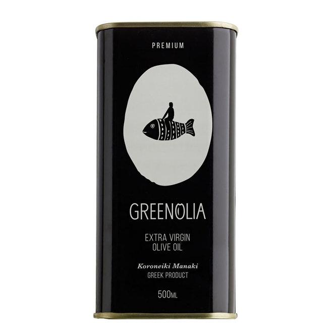 Premium extra vierge olijfolie 500ML Blik