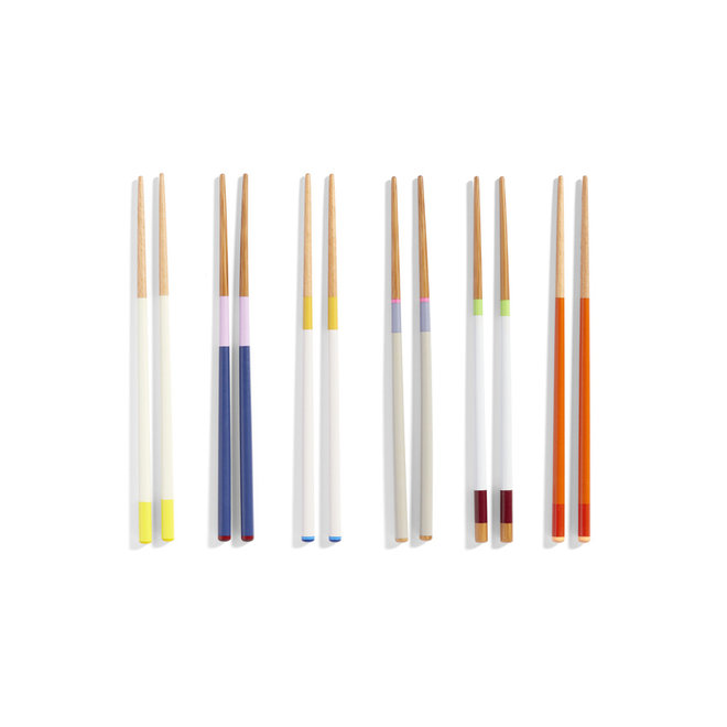 Colour Sticks Set Van 6