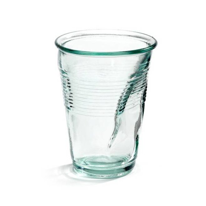 Crushed Cup XL Glass 2 stuks
