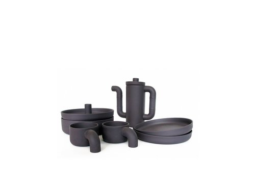 Ineke Hans Black Gold koffieservies Set