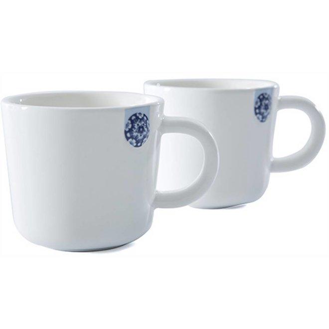 Touch of Blue Mug 9cl set van 2