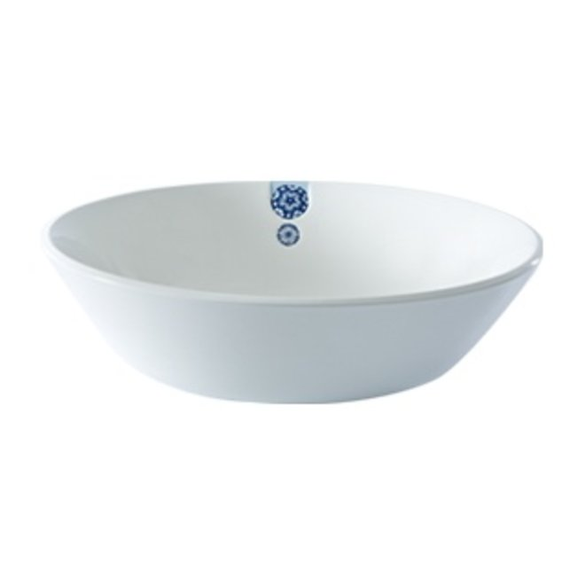 Touch of Blue Bowl 30cm