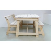 Berit Bench With Back