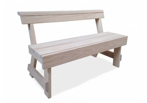Ineke Hans Berit Bench With Back