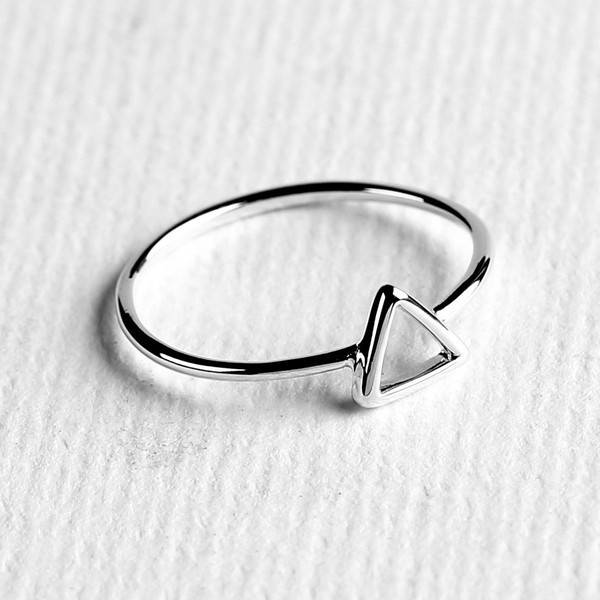Midsummer Star Triangle ring