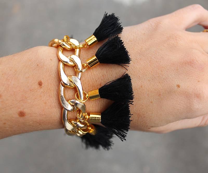 Boho Babes Majou Fringe armband