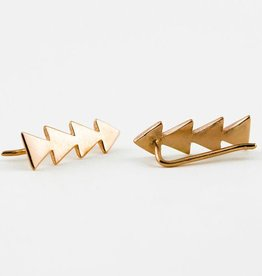 Lunai Triangle earpin