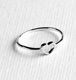 Midsummer Star Open Heart Ring