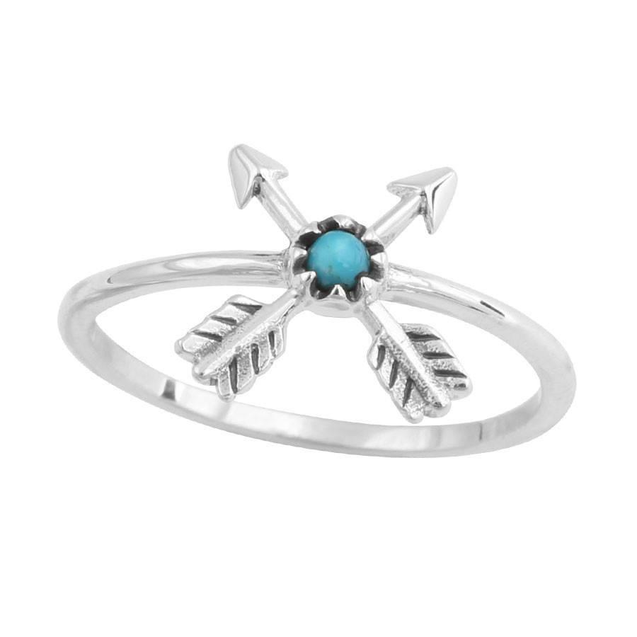 Midsummer Star Crossed Arrow Ring