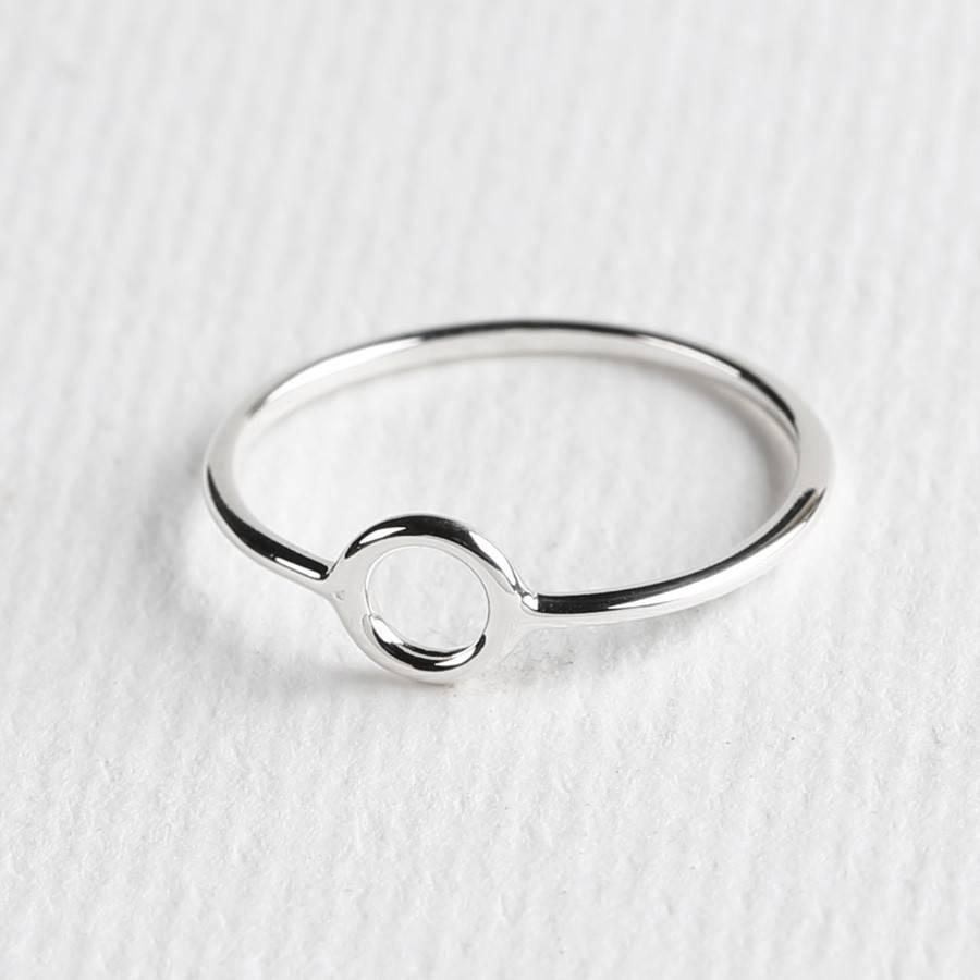 Midsummer Star Circle ring