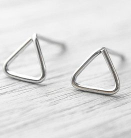 Lunai Triangle Oorbellen