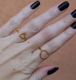 Midsummer Star Open Triangle Ring
