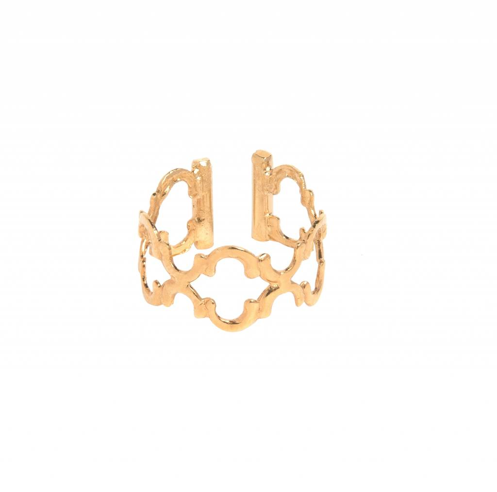 Dear Charlotte Clover Lace Ring