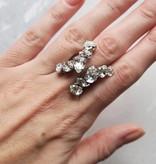 Melissa Kandiyoti Crystal Ring