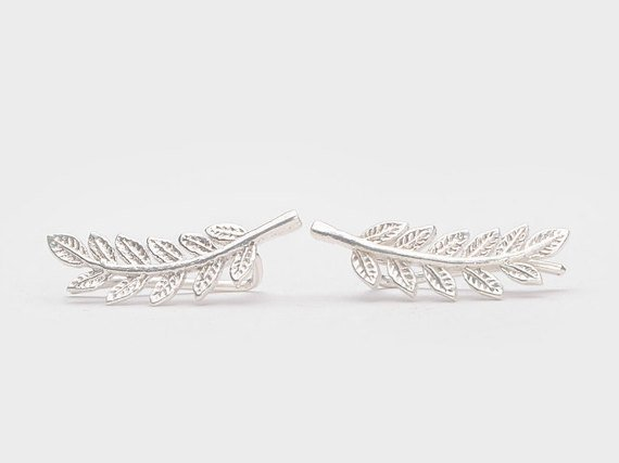 Lunai Leaves Earpin