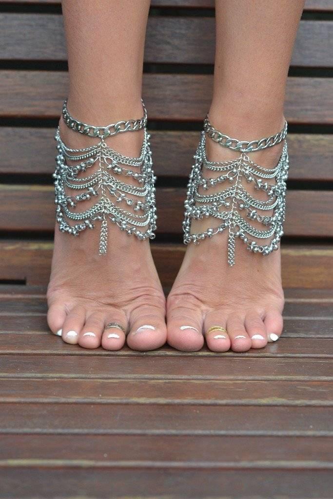 Grace Bijoux Angelina Anklet