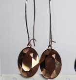 Melissa Kandiyoti Rosé Earrings
