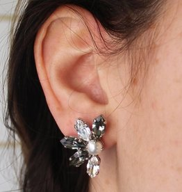 Melissa Kandiyoti Lotus Earrings