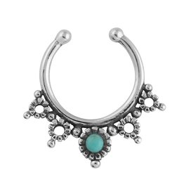 Midsummer Star Faux Septum Beaded Disks