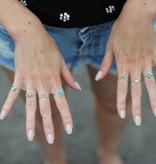 Midsummer Star Seashell ring