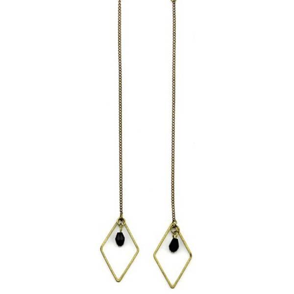 Boho Babes Triangle Threader Earring