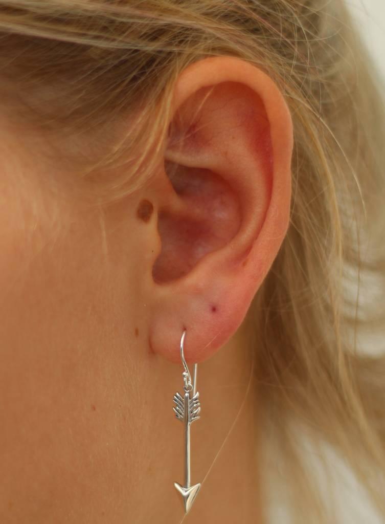 Midsummer Star Arrow drop earrings