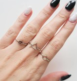 Midsummer Star Peace ring