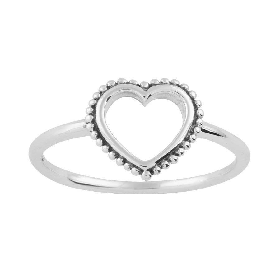 Midsummer Star Mehndi Heart Ring