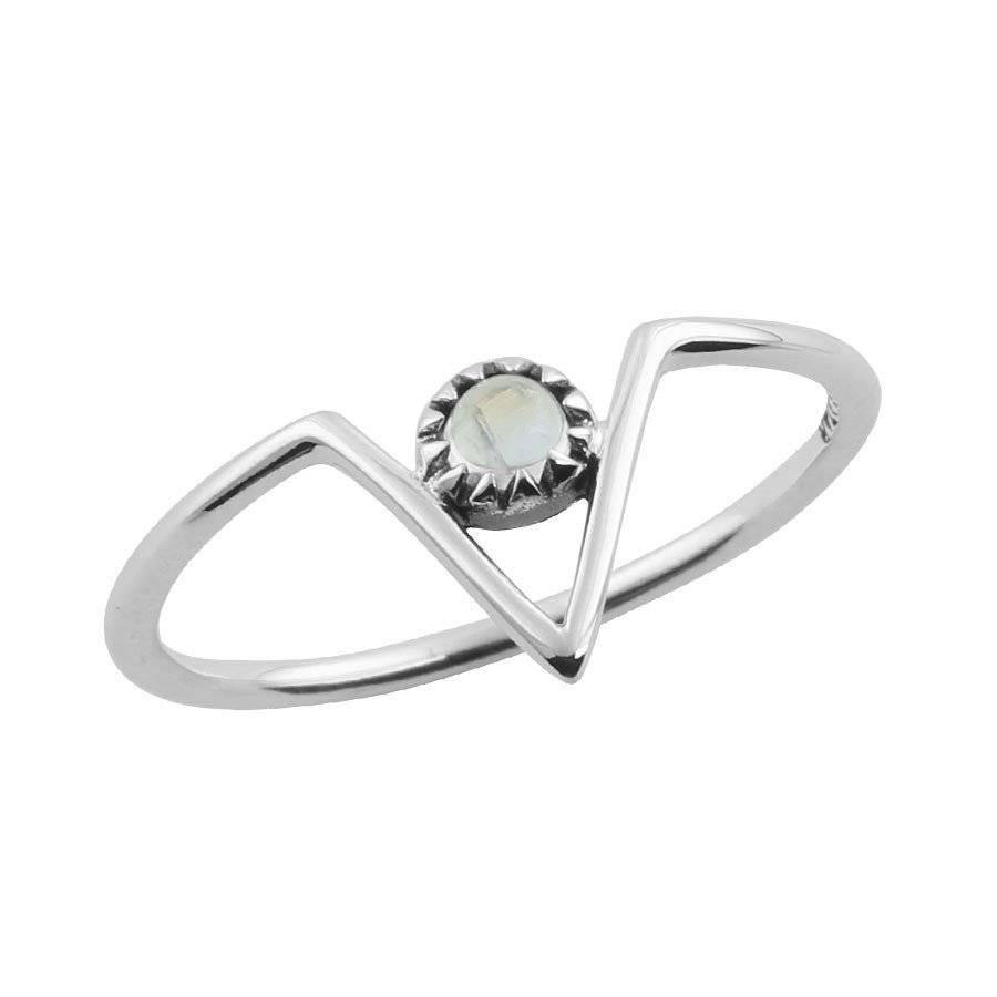 Midsummer Star Zenith Moonstone ring