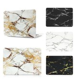 Macbook cover marble white